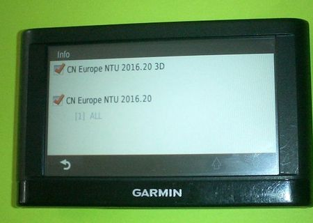 Actualizare harti, harta GPS Garmin Europa 2018