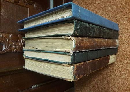 Biblia de la Buzau toate cele 5 volume tiparite intre 1854 si 1856