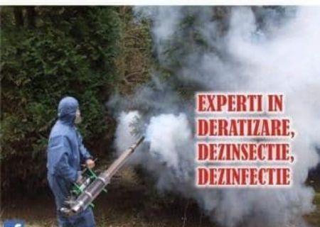 Dezinsectie Deratizare Dezinfectie ULV