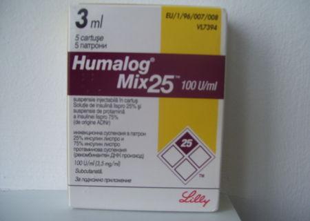 Insulina Humalog Mix 25 100 U/ml