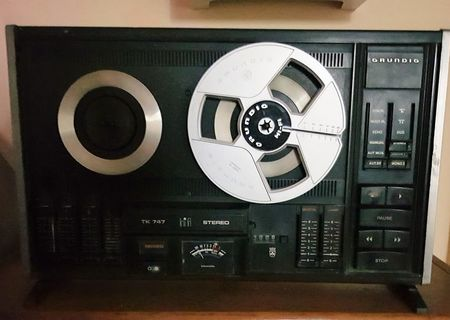 Magnetofon Grundig TK 747 pentru nostalgici