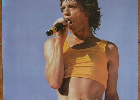 Poster Mick Jagger (The Rolling Stones)