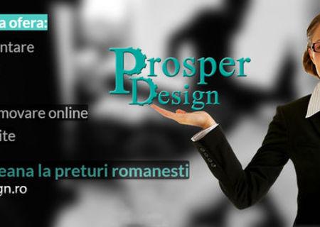 Prosper Design - Firma de web design Bucuresti