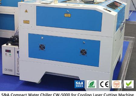Răcitor de apă mic CW5000 pentru tăietorul cu laser CO2