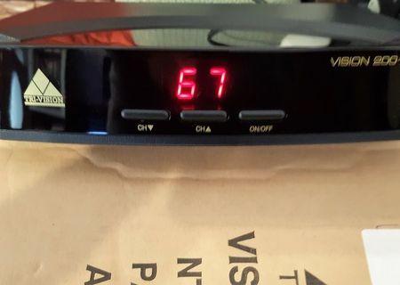 Receptor de cablu pentru TV analogic