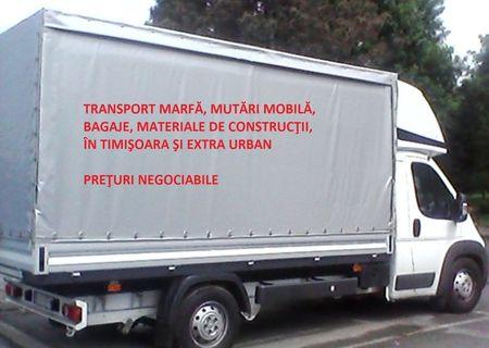 Transport marfa mutări mobilă și bagaje!!!