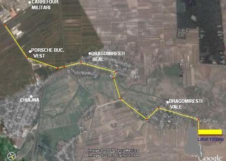 Vînd 1000mp toate utilitățile 4km de carrefour militari
