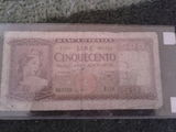500 lire italiene 1947 serie rara