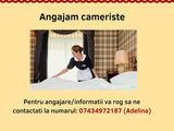 Angajam personal curatenie hotel