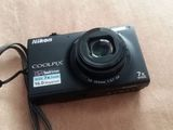 Aparat foto-video NIKON Coolpix Touch Screen 16.0 Mpx+Card 4GB+Husa