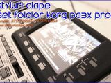 Demo - SET Korg Pa3x Profesional.