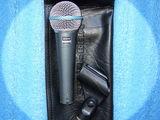 Microfon Shure BETA 58A, stativ (suport), cablu 10 m