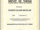 Obtinem brevete de turism
