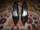 pantofi eleganti catifea neagra