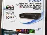 Receptor de satelit HUMAX TN 8000 HD si card de acces valabil 4 ani pentru TNTSAT
