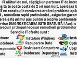 reparatii calculatoare si instalare software,intretinere pc