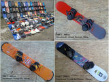 Snowboard cu legaturi