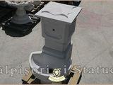 Stalpisori, balustri, popici, mosoare, din beton, model B4.