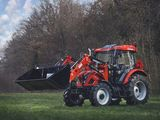 tractor 75 cp, 4x4 cu incarcator frontal