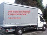 Transport Marfa Mutari Mobila Bagaje 80 lei!!!