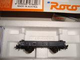 Trenulet electric HO: locomotiva si vagoane