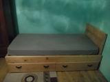 Vand pat din lemn de brad